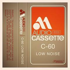 Cassettes: MAudio Low Noise C60