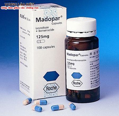 Madopar là tên thương mại phổ biến của hoạt chất Levodopa