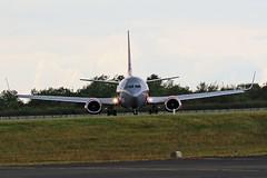 G-GDFG JET2 BOEING 737 NEWCASTLE AIRPORT