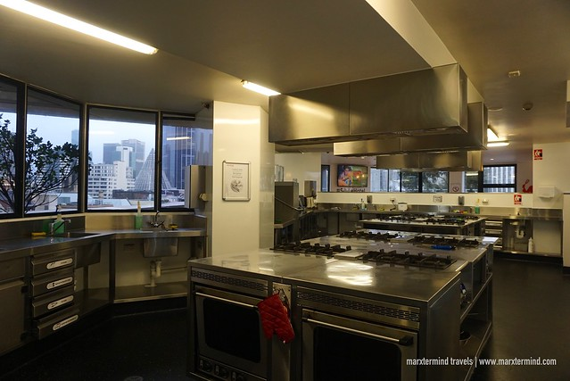 Space Hotel Melbourne Shared Kitchen