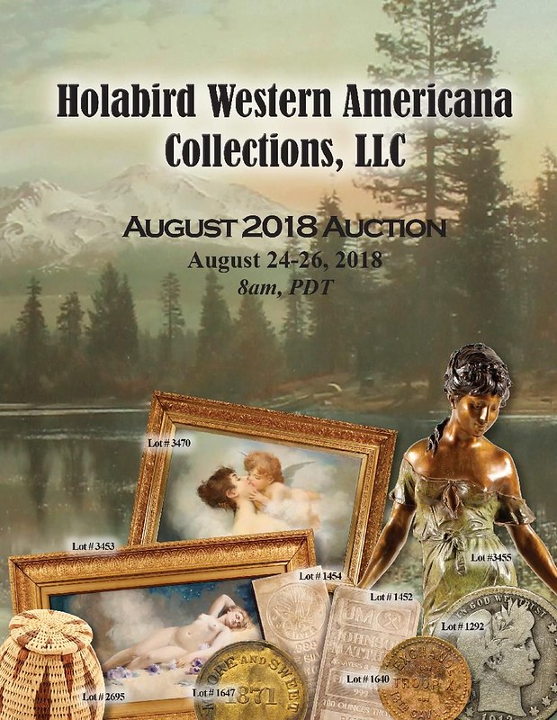 Holabird E-Sylum ad 2018-07-29 August 2018 sale