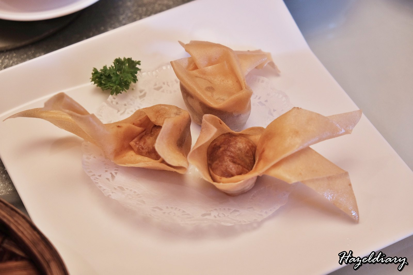 Yan Cantonese Cuisine-Deep-fried Satay Chicken Wanton-1