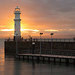 Newhaven Sunset by simpletones