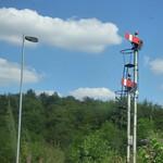 Departing Worcester Foregate Street Station - Worcester DMU Depot - semaphore signal