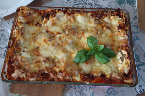 Lasagne (für 6 Personen)