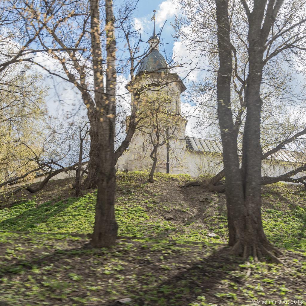 Спасо-Андроников монастырь. Северная башня.