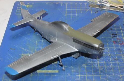 N.A. P-51D Mustang, Airfix 1/48 - Sida 4 43092419924_5036dcd9d5