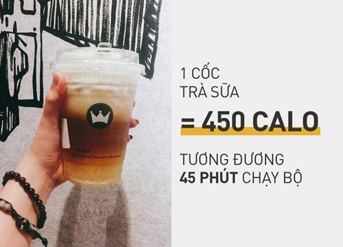 uống trà sữa