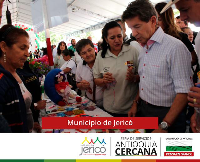 Feria de servicios Antioquia Cercana - Jericó