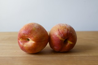 two peaches, but i only used one