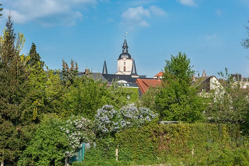 Meerane in Sachsen