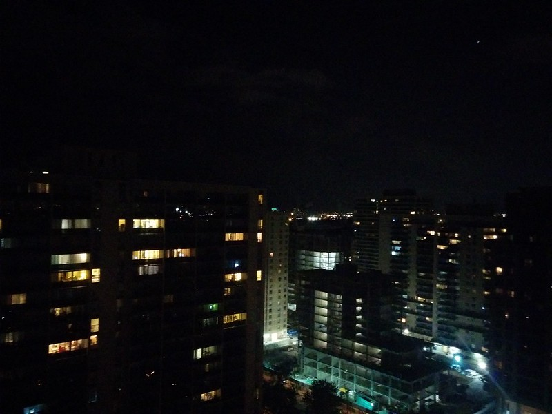 Glittering, east to west (3) #toronto #skyline #highparknorth #lights #night #latergram