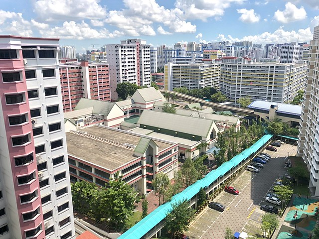 iPhone X [HDR] - HDB Buildings @ Bukit Panjang