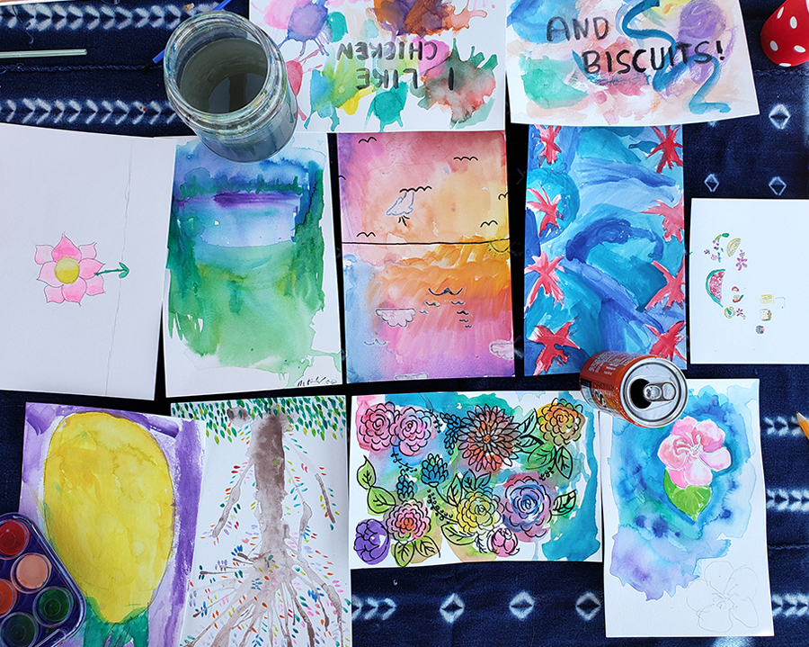 SAJ-Art-Camp-Day-5-Watercolor-Pool-Party-4
