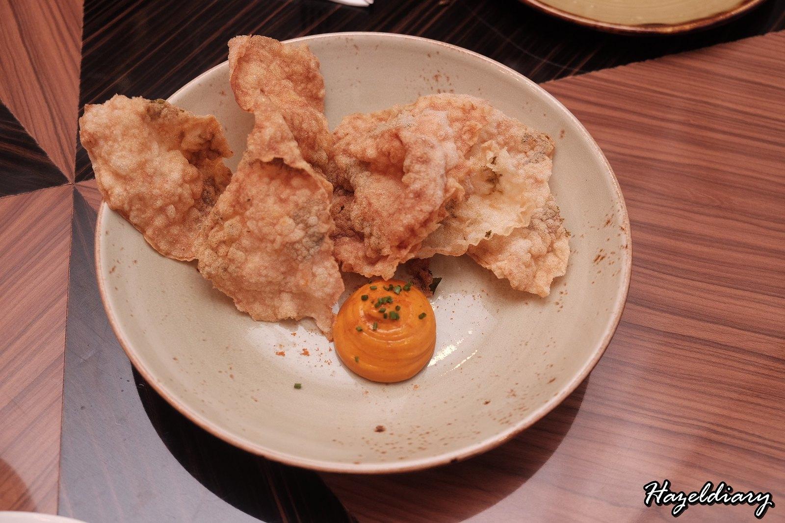 Porta x Ah Hua Kelong Fish Farm-Cracker with curry mayonnaise
