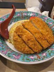 pork loin cutlet fried rice with ramen at Yoshikyu, mitaka