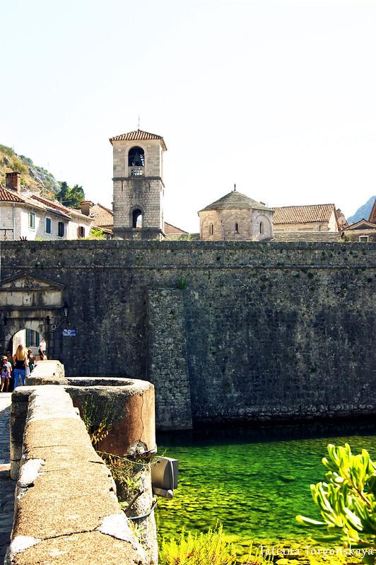 Мост через Шкудру и Старый город Котора