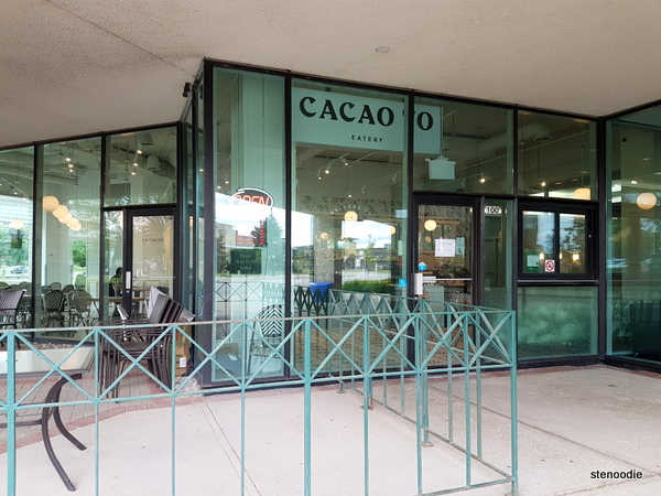 CACAO 70 Eatery storefront