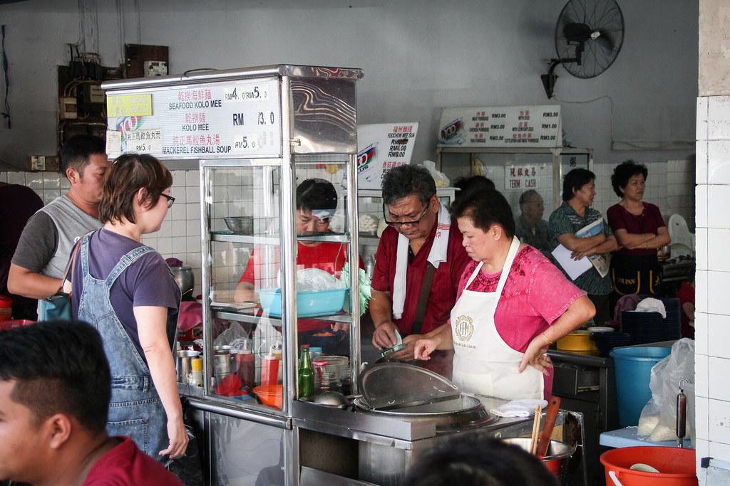 Meng Joo Kee Kolo Mee Storefront
