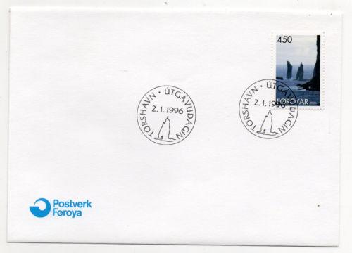Faroe Islands - Scott #295 (1996) first day cover