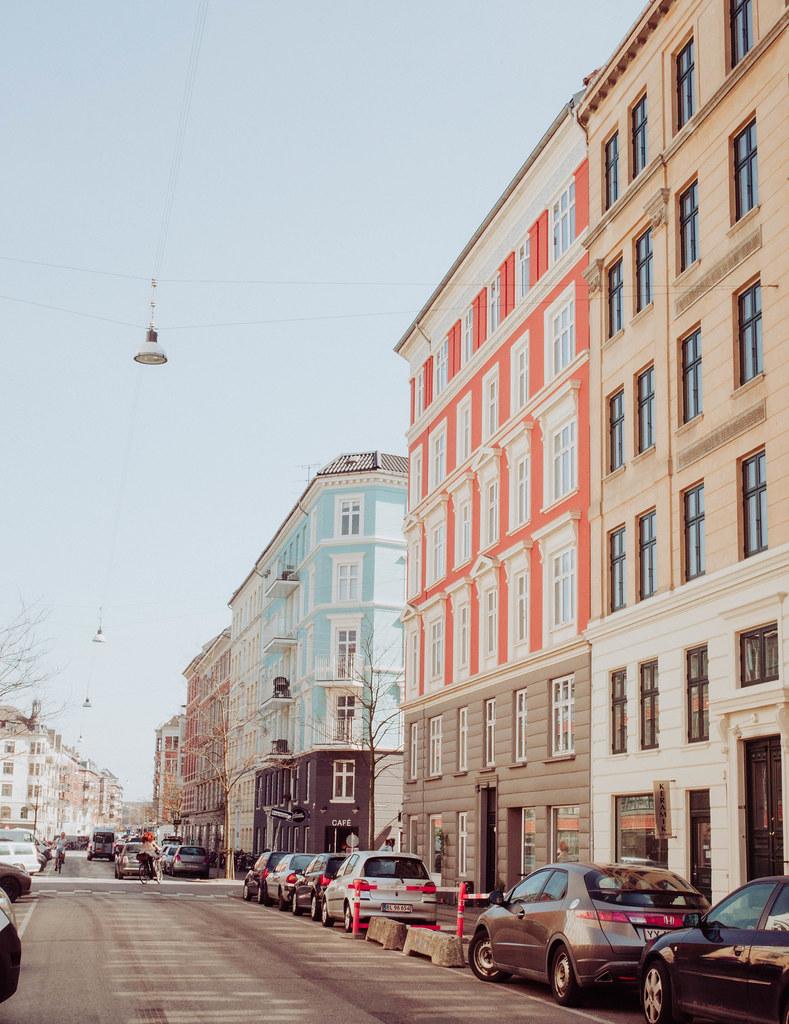 Copenhagen Denmark Vesterbro Architecture