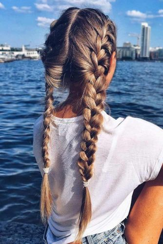 30+Most Stunning French Braid Hairstyles To Make You Amazed! 11