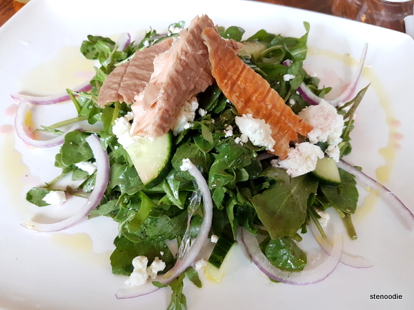 Smoked Trout and Watercress Salad