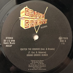 T SKI VALLEY:!CATCH THE BEAT!(LABEL SIDE-B)