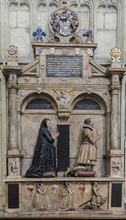 York Minster, Memorial to Sir Henry Belassis & wife