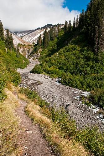 hiking hood karl landscape mount mountains travel water oregon usa