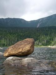 Braced rock