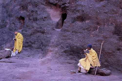 ETHIOPIA - Early morning in Lalibela