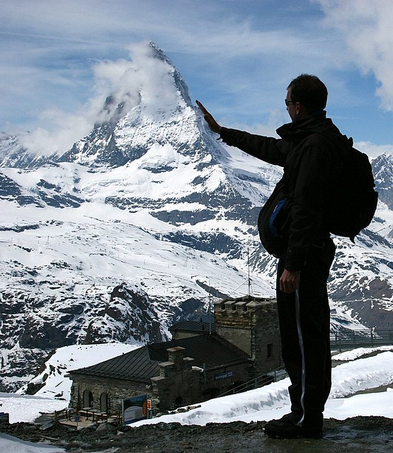 Touching Matterhorn - Zermat - Switzerland