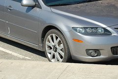 automobile, automotive exterior, wheel, vehicle, automotive design, rim, mazda6, bumper, land vehicle, luxury vehicle,