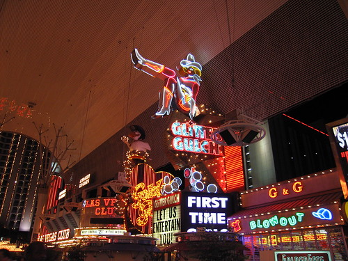 What to do in Las Vegas - Fremont Street