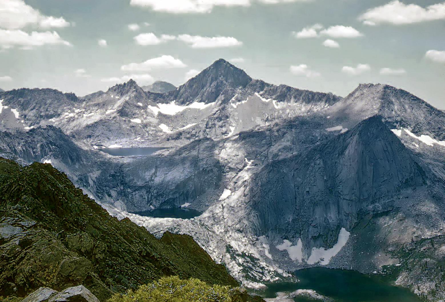 Elevation Of Glacier Ridge California Usa Topographic