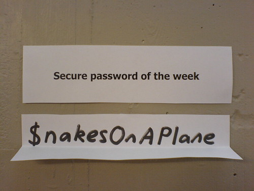 Good password on paper
