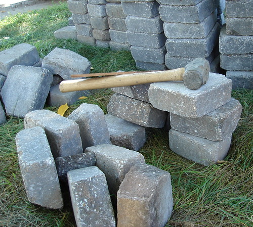 Hammer and stones