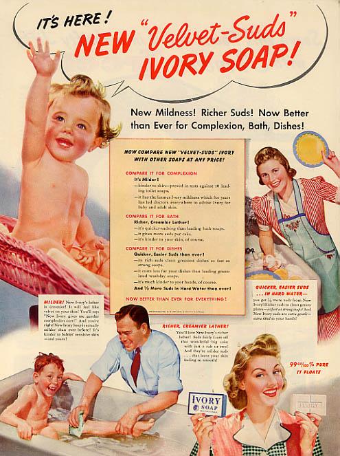 Ivory Soap ad, 1950s