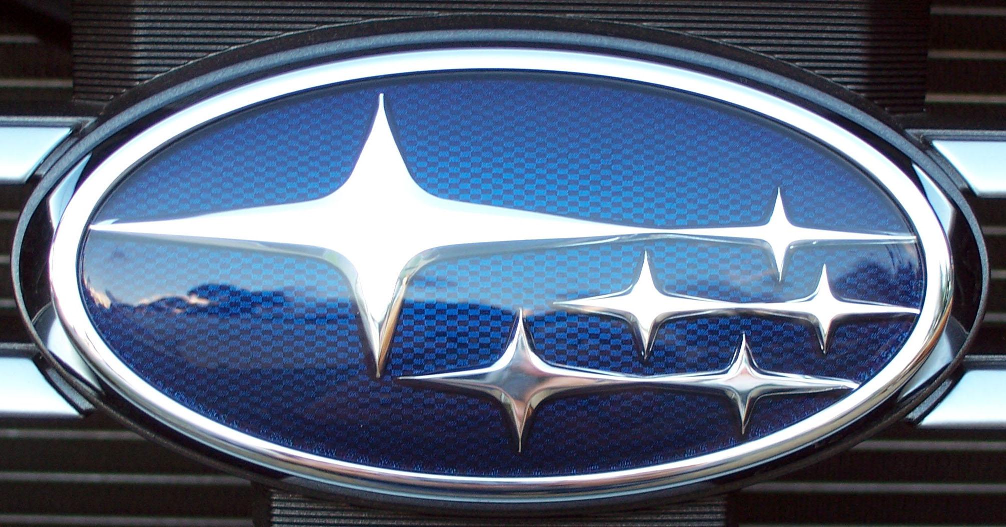 Subaru logo | Explore Dale Gillard's photos on Flickr ...