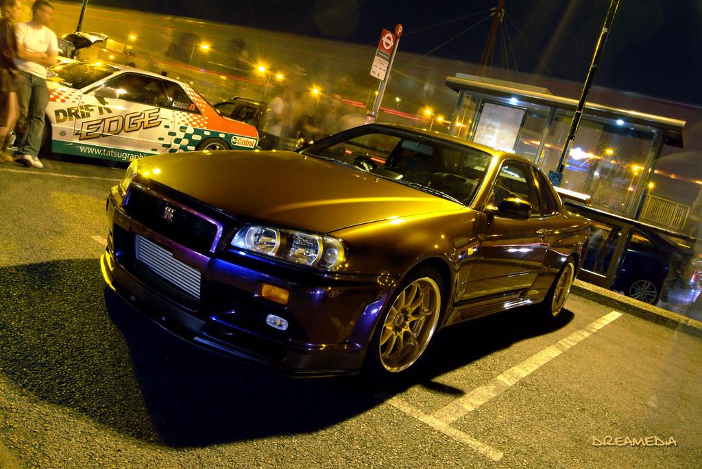 Midnight Purple Nissan Skyline A Photo On Flickriver