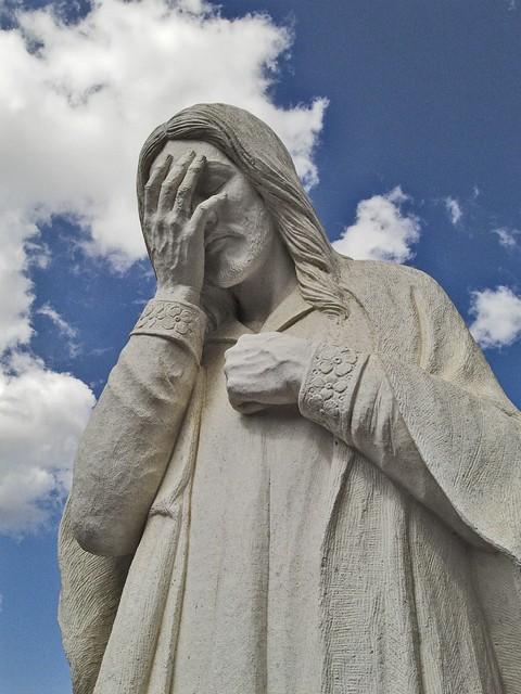 Jesus Facepalm Statue | www.pixshark.com - Images ...