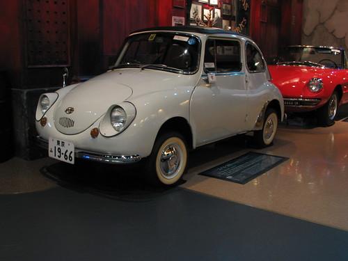 1966 Subaru 360 Model K111, History Garage, Tokyo