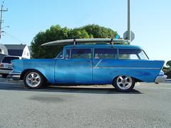 Chevrolet 2 Door Wagon, 1957