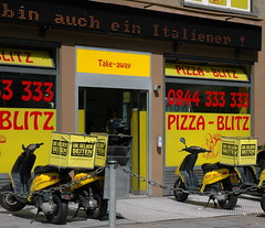 pizza delivery swiss style