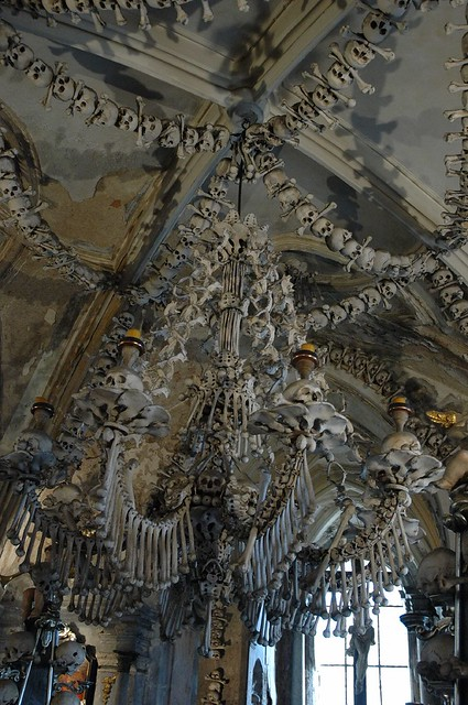 Ossuary in Sedlec interiors 2