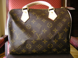For Sale: Louis Vuitton Monogram Canvas Speedy 25