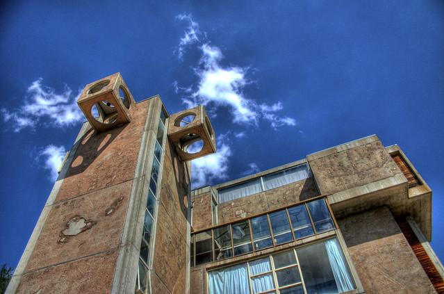 arcosanti tower