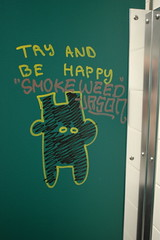 Try and be happy (Smoke weed)