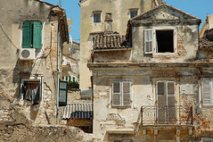 The old Corfu Town